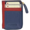 Multi Coloured Card and Coin Wallet A1515L