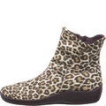 L19 Leopard Suede Ankle Boots