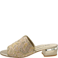 Tayto Champagne Jewelled Mules