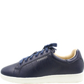 Jackie Navy Croc Leather Sneakers