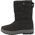 Snowday Mid Black Waterproof Boots